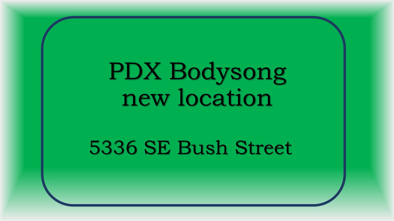 PDX Bodysong Address